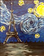 $30~FAMILY ART IN THE AFTERNOON~Starry Eiffel