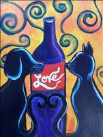 Recycled Love Painting with a Purpose