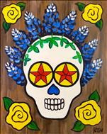 Texas Star Sugar Skull