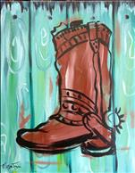 Shabby Chic Boot