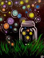 Kids Paint: Colorful Firefly Jar