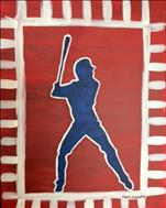 *NEW!* Batter up!  (Personalize Colors. ALL AGES!)