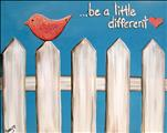Be a little different