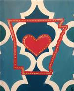 Quatrefoil Heart Arkansas