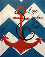 Love Anchors the Soul - SOLD OUT