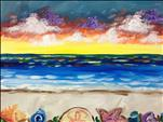 Vibrant Seaside-Couples Version-2 Canvases!