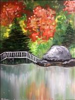**NEW ART**  Bridge at Boulderwoods