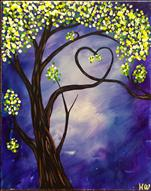 Love Tree Purple