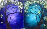 BFF/Date Night* Our Love Trees - Paint as Set/Solo