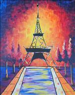 Vibrant Eiffel Tower
