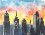 Philly Cityscape *Paint as a Set or Solo*