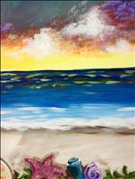 Vibrant Seaside - Single Canvas - Your Choice!