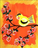 Creative Kids Paint Baby Goldfinch