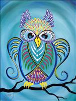 Turquoise Owl--Your Colors!