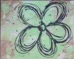Dani's Scribbled Flower - All Ages!