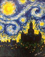 Starry Night over Denton