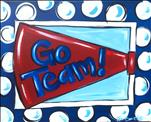 Family Friendly: Paint Your Team Spirit Megaphone