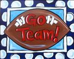 Family Friendly: Paint Your Team Spirit Football