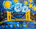 Starry Night Over Clemente Bridge