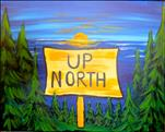 Up North Sunset - Customize your sign