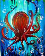 The Octopus-Manic Monday- 3hr for 2 hr price!