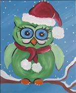 Cozy Christmas Owl  Kid Friendly