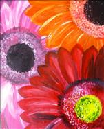 Private Party-Mother/Daughter Fun-Gerbera Daisies