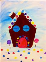 ALL AGES! Gumdrop Gingerbread House