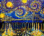 Starry Night Bridge
