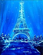 $25 MANIC MONDAY! Winter in Paris with LIGHTS!