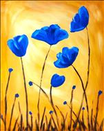 NEW** Blue Poppies