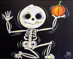 Halloween Skeleton- GLOW IN THE DARK!