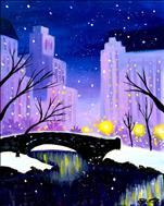 Central Park in Winter  Manic Monday  $35