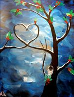 Winter Love Tree