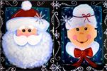 Mr. & Mrs. Claus Set