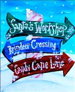 North Pole Signs!! Teens & UP!