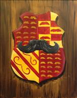 Mustache Coat of Arms