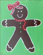 Gingerbread Girl or Boy Either Side KIDS 8+WELCOME