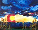 Colorado Sunset | Canvas Option