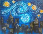 Starry Night Over Atlanta