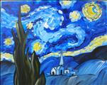 Manic Monday! Starry Night - 3 hr. class for $35!