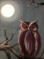 Moonlit Owl