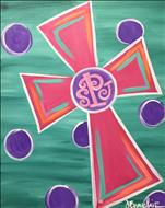 Art For All Ages ~ Monogram Cross