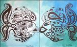 Singles or Couples! Paisley Fish Set ($35pp)