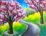 Cherry Blossom Path!