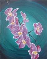 NEW ART: Purple Orchids