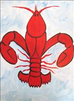 "Art Camp: ""Louisiana Crawfish Fleur de Lis"""