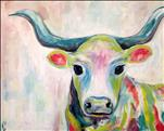 Kids Camp: Colorful Cow *ALL AGES