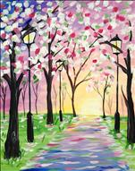 COFFEE & CANVAS: Pastel Stroll: Ages 12+