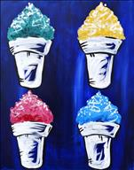 Sno Ball Pop Art (ALL AGES)